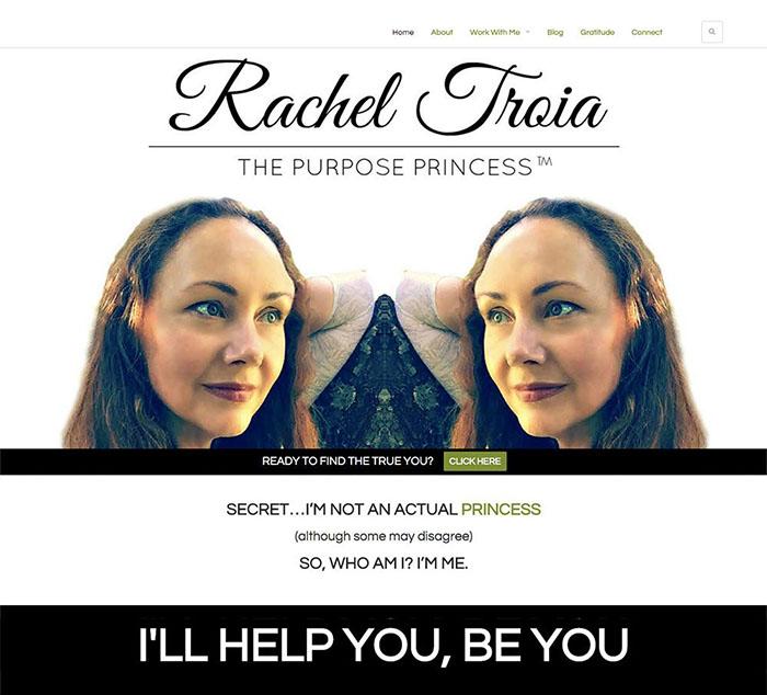 Rachel Troia Homepage