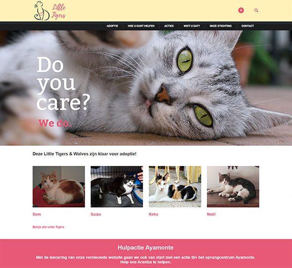 little tigers portfolio website