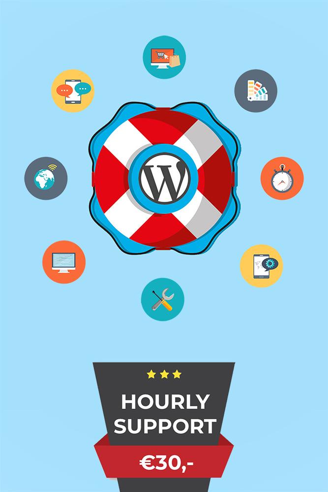 wordpress hourly support