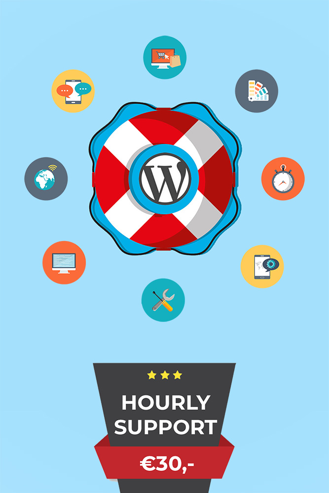 wordpress hourly support
